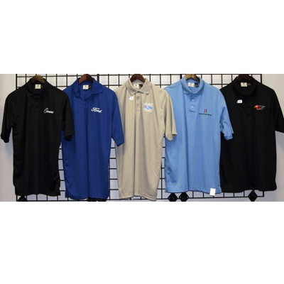 Mens M-3XL Polyester embroider