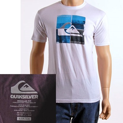 Quiksilver men's graphic tee's